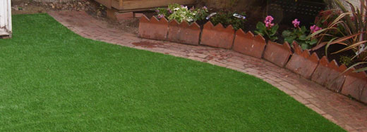 enjoy your new artificial lawn