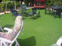 Synthetic Grass Garden Party