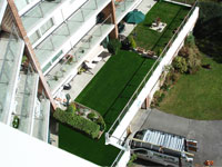 Roof Garden with Artificial Grass