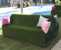 Astroturf Seats