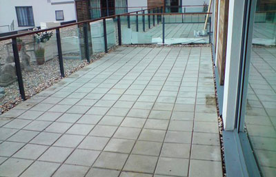 Artificial Turf On Concrete And Decking As Good As Grass