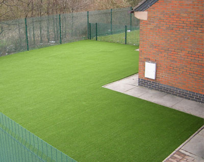 Artificial Grass By As Good As Grass School Case Studies - Soft flooring for children's play area