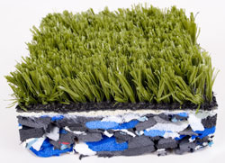 Shock Pad with grass