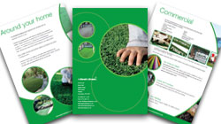Artificial Lawn Brochures