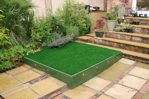 Garden Design With Artificial Grass photos of artificial lawns in gardens