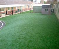 Playground at Aston St Peters School