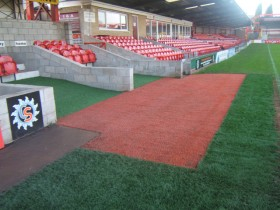 Football Touch Line Dug Outs Gallery